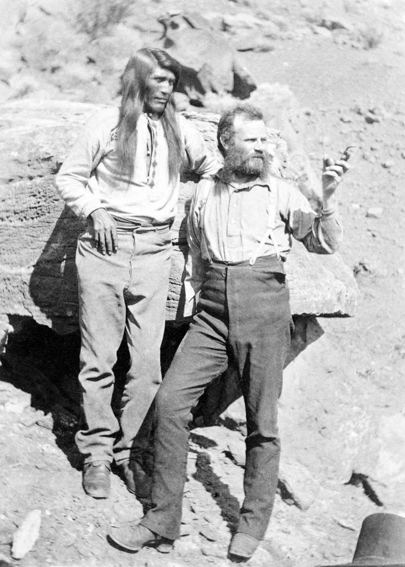 John_Wesley_Powell_with_Native_American_at_Grand_Canyon_Arizona